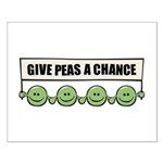 Give Peas A Chance Small Poster