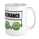 Give Peas A Chance Large Mug