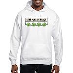 Give Peas A Chance Hooded Sweatshirt