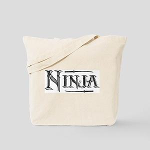 Vintage Ninja Tote Bag