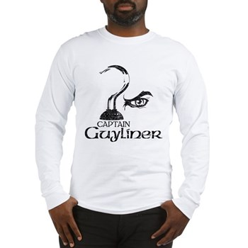 Captain Guyliner Long Sleeve T-Shirt