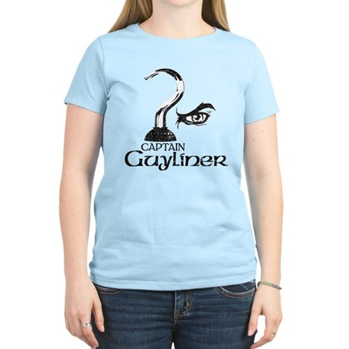 Captain Guyliner Women's Light T-Shirt