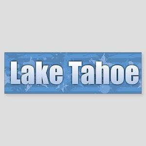 Lake Tahoe Design Bumper Sticker