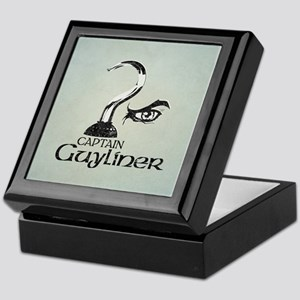 Captain Guyliner Keepsake Box