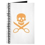 Orange Jolly Cropper Journal