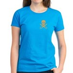 Orange Jolly Cropper Women's Dark T-Shirt