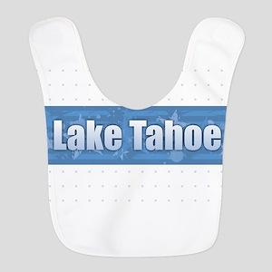 Lake Tahoe Design Polyester Baby Bib