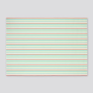 Stripes by Leslie Harlow 5'x7'Area Rug