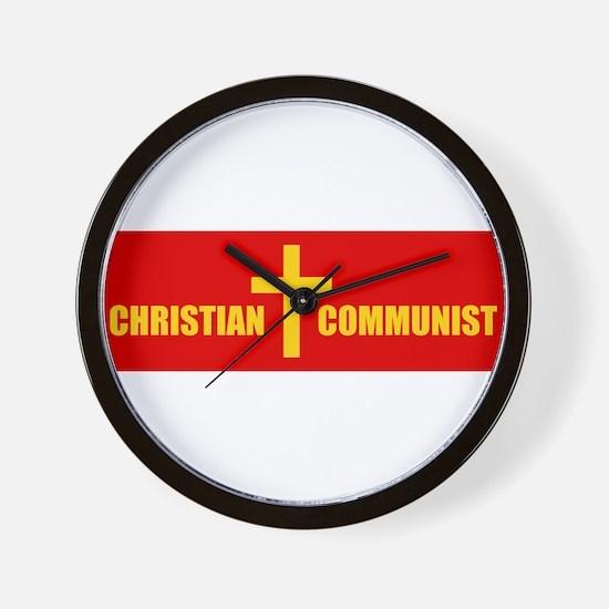 Christian Communist Wall Clock