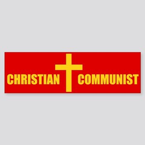 Christian Communist Bumper Sticker