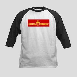 Christian Communist Kids Baseball Jersey