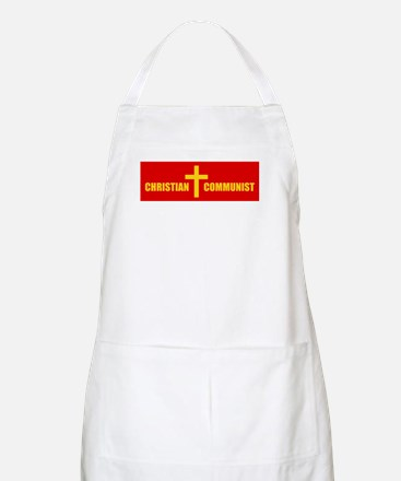 Christian Communist BBQ Apron