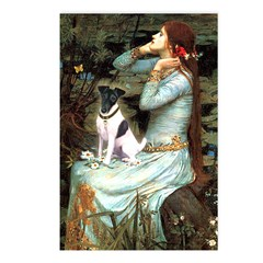 Ophelia / Fox T Postcards (Package of 8)