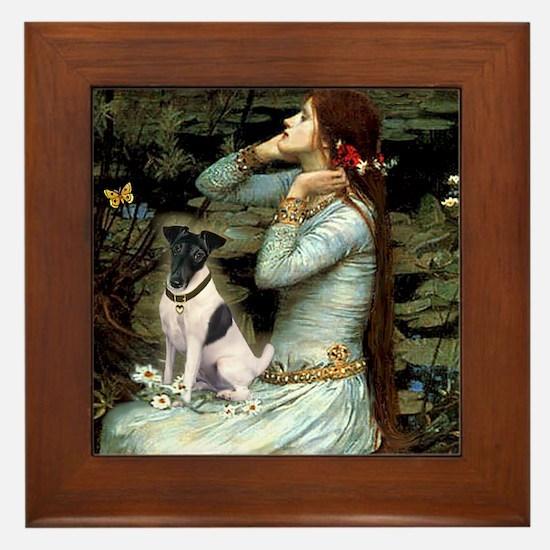 Ophelia / Fox T Framed Tile