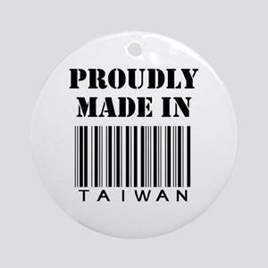 made in Taiwan Ornament (Round)