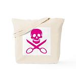 Fuchsia Jolly Cropper Tote Bag