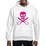 Fuchsia Jolly Cropper Hooded Sweatshirt