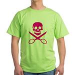Fuchsia Jolly Cropper Green T-Shirt