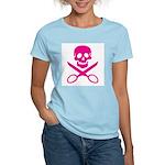 Fuchsia Jolly Cropper Women's Light T-Shirt