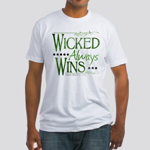 Wicked Always Wins Fitted T-Shirt
