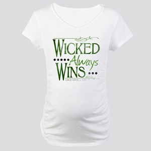 Wicked Always Wins Maternity T-Shirt