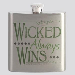 Wicked Always Wins Flask