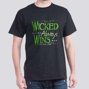 Wicked Always Wins Dark T-Shirt