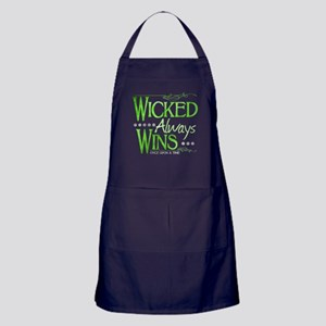 Wicked Always Wins Apron (dark)