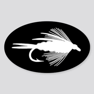 WHITE FLY - RECTANGLE STICKER