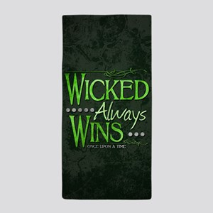 Wicked Always Wins Beach Towel