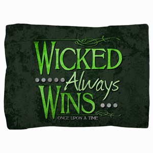 Wicked Always Wins Pillow Sham