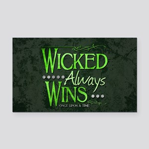 Wicked Always Wins Rectangle Car Magnet