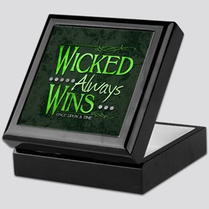 Wicked Always Wins Keepsake Box