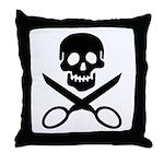 The Jolly Cropper Throw Pillow