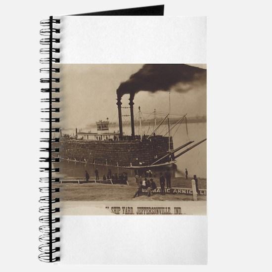 Mississippi River Landing Journal