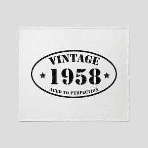 1958 Throw Blanket