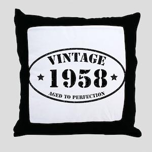 1958 Throw Pillow