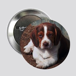 Chocolate Beagle Button