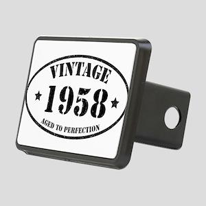 1958 Rectangular Hitch Cover