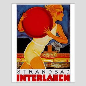 Interlaken Switzerland Travel Posters