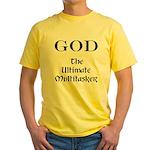 God - Multitasker Yellow T-Shirt