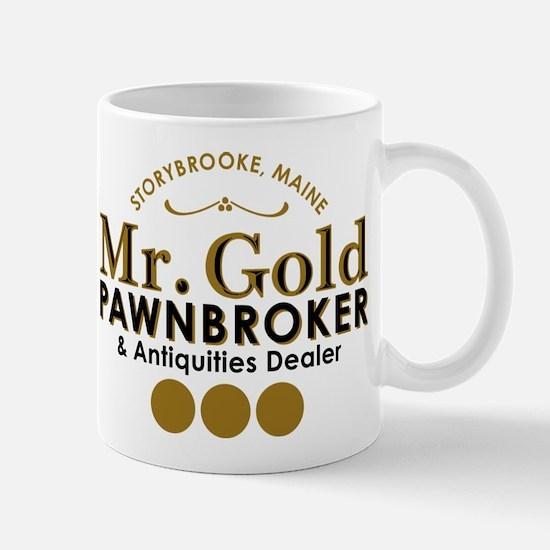 Mr Gold Pawnbroker Mugs