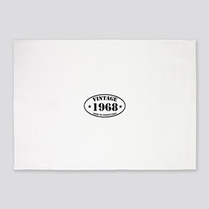1968 5'x7'Area Rug