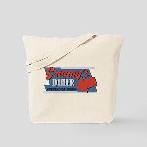 Granny's Diner Tote Bag