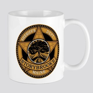 Storybrooke Sheriff Badge Mugs