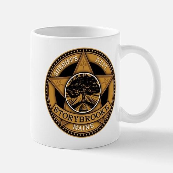 Storybrooke Sheriff Badge Mugs