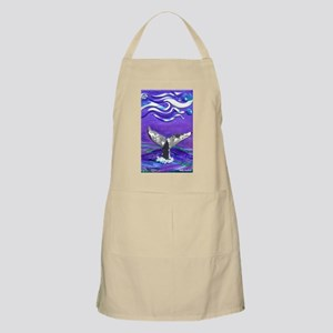 Whale Tail journal Apron