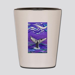 Whale Tail journal Shot Glass