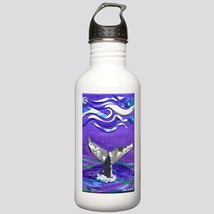 Whale Tail journal Water Bottle