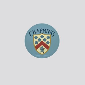 Prince Charming Shield Mini Button
